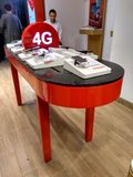 4G vodafone. At vodafone mobile shop moblies for sale Royalty Free Stock Photos