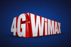 4G WIMAX Stock Image