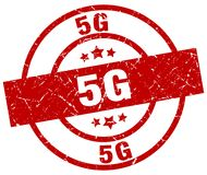 5g zegel stock illustratie