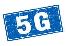 5g zegel vector illustratie