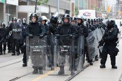G20 à Toronto, Canada Images stock