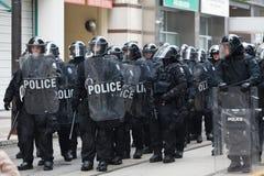 G20 à Toronto, Canada Image stock