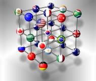 G20 molecule Stock Photos