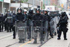 G20 in Toronto, Canada Stock Images