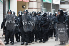 G20 in Toronto, Canada Stock Image