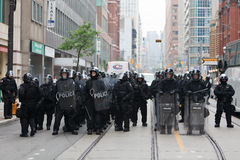G20 in Toronto, Canada Royalty Free Stock Images