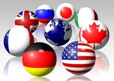 G8 Royalty Free Stock Image