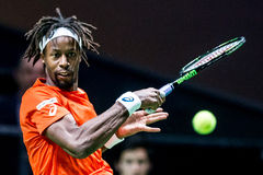 "Gaà ""l torneo di tennis di giro del mondo di ATP di Monfils Immagine Stock Libera da Diritti"