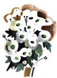 Gałąź na Palmowej Niedziela ilustracji