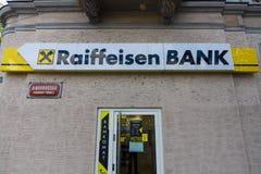 Gałąź Raiffeisen bank Obrazy Stock