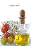 gałęziaści nafciani oliwni organicznie pomidory Obraz Royalty Free