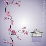 gałęziasta kwiatonośna wiosna ilustracja wektor