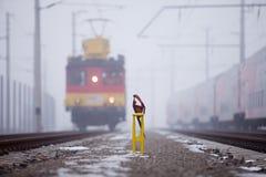 gałęziasta linia lokomotywa zdjęcie stock