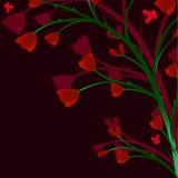 gałęziasta roślina royalty ilustracja