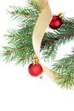 gałęziasty bożych narodzeń futerka drzewo Obrazy Royalty Free