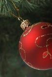 gałęziasty bożych narodzeń futerka zabawki drzewo Zdjęcie Royalty Free