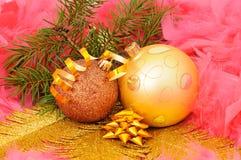 gałęziasty dekoracj futerka drzewo Zdjęcie Royalty Free