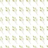 Gałęziasty deseniowy bezszwowy Fotografia Royalty Free