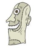 Gałganiana twarz Zdjęcia Stock