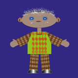 Gałganianej lali chłopiec Obrazy Royalty Free