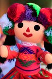 Gałganianej lali ręka wykonująca ręcznie Fotografia Stock