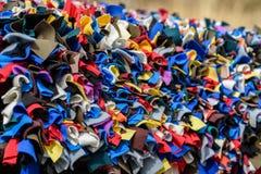 Gałganiany dywanik zdjęcia stock