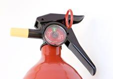 gaśnica ogień Zdjęcia Stock