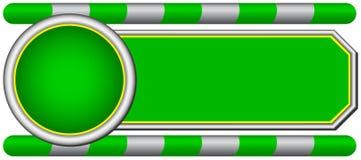 Ga banner Royalty-vrije Stock Foto's
