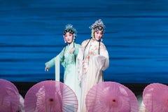 """Ga bezienswaardigheden bezoekend op het Westen meer-Kunqu Opera""""Madame Witte Snake† royalty-vrije stock afbeeldingen"""