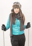 Ga binnen voor ski Royalty-vrije Stock Foto's