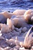 gałeczka lodowi plasterki Fotografia Stock