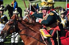 Ga en vecht Royalty-vrije Stock Foto
