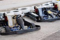 Ga -gaan-karts Stock Foto