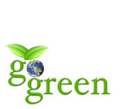 Ga groen Stock Foto