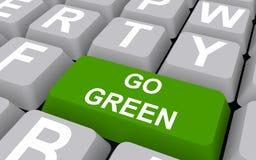 Ga groen concept royalty-vrije illustratie