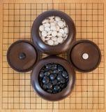Ga, Japans raadsspel royalty-vrije stock afbeelding
