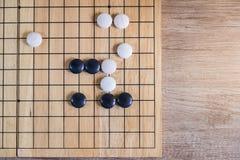 Ga, Japans raadsspel stock foto