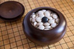 Ga, Japans raadsspel royalty-vrije stock foto's