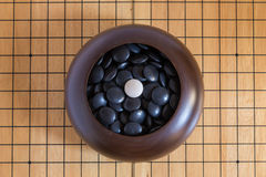 Ga, Japans raadsspel royalty-vrije stock foto