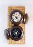 Ga, Japans raadsspel stock foto's