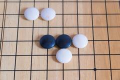 Ga, Japans raadsspel royalty-vrije stock afbeeldingen