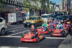 Ga Karting royalty-vrije stock afbeelding