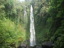 Ga op vakantie naar de waterval royalty-vrije stock afbeelding