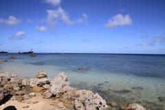 Ga'an Point. In Guam, Micronesia stock image