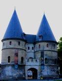 Ga van het museum van Beauvais binnen Stock Foto's