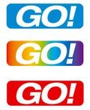 GA! vector knoop Stock Foto