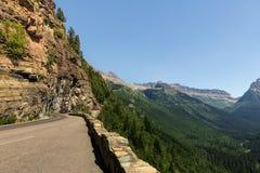 Gaan-aan-de-zonweg in Montana Stock Fotografie