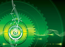 Gaan-Green Stock Afbeeldingen