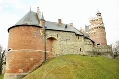 Gaasbeek castle, Belgium Stock Image