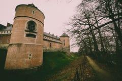 Castle Gaasbeek Lennik stock photography